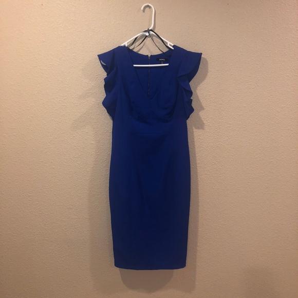 XOXO Dresses & Skirts - XOXO Blue Dress 9/10- NWOT Retail value $79